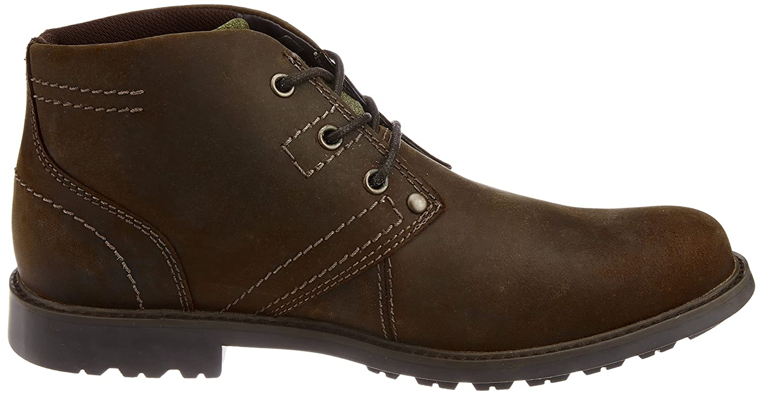 Cat Men's Carsen Mid Tan Boat Shoes - 8 UK: Buy Online at Low Prices in  India - Amazon.in