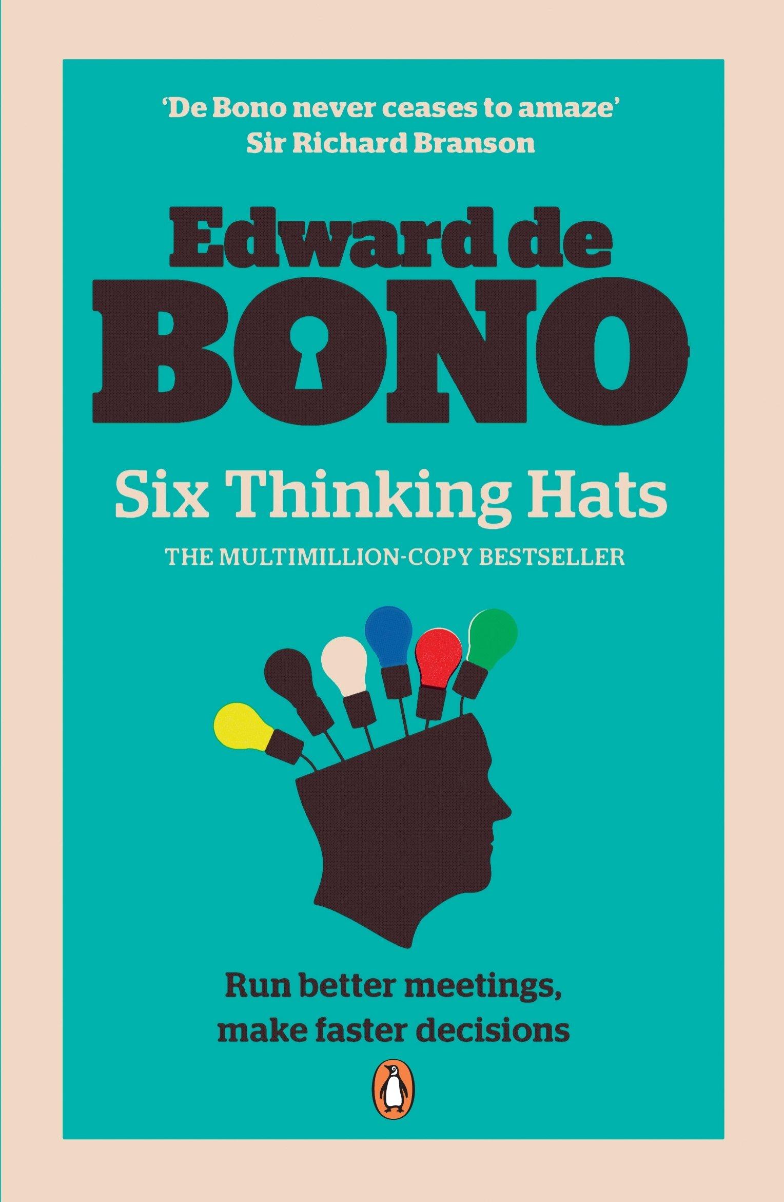 b1745f92e33 Six Thinking Hats  Amazon.co.uk  Edward de Bono  9780141033051  Books
