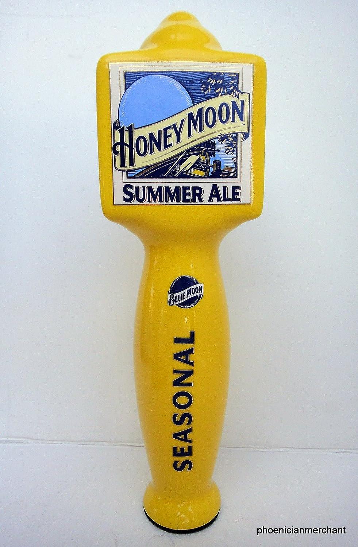 Blue Moon Summer Honey Wheat Ale Beer Keg Kegerator Tap Handle *NEW*