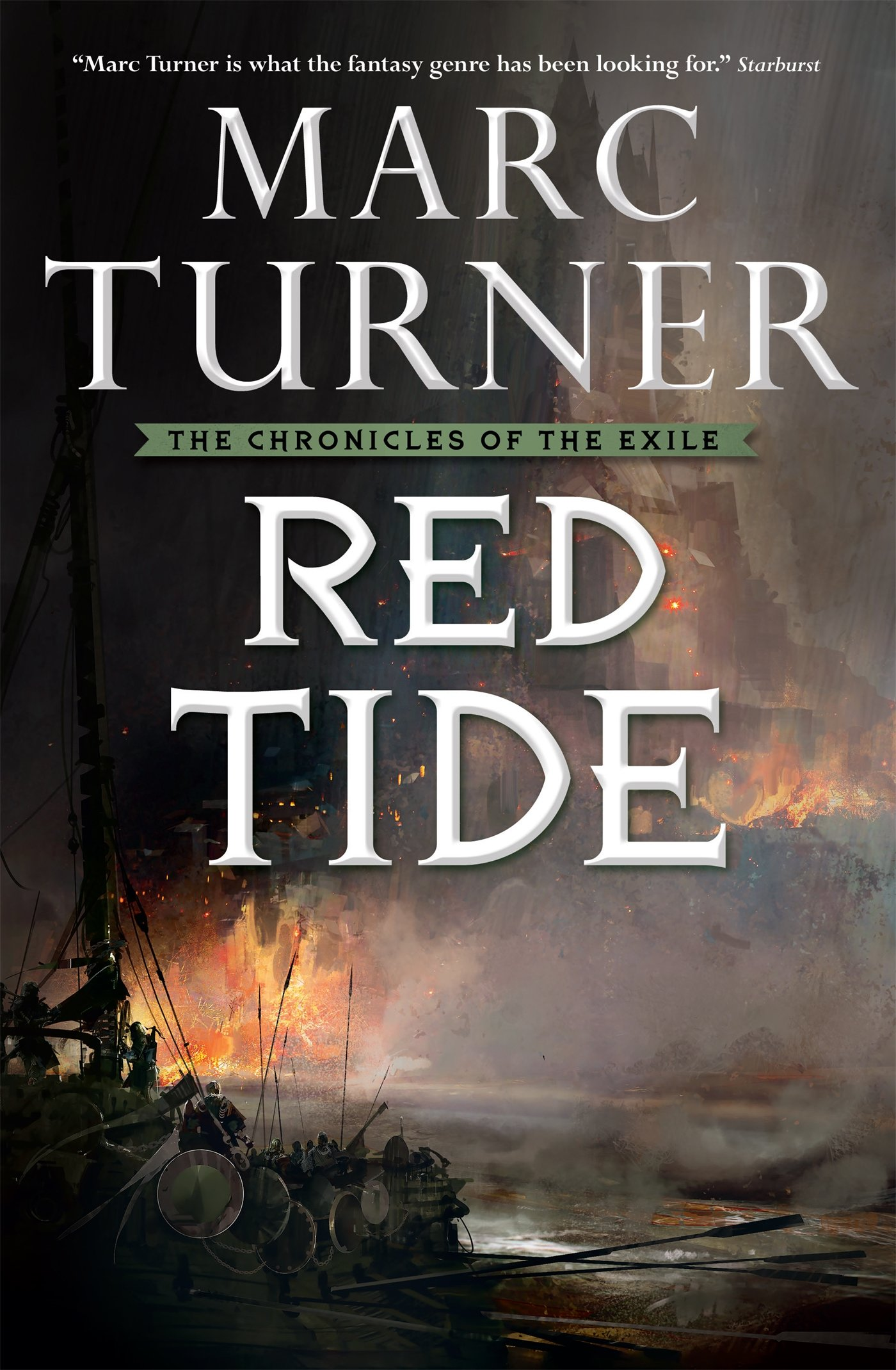 Read Online Red Tide: The Chronicles of the Exile, Book Three ebook