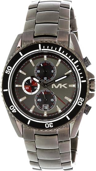 Michael Kors Reloj analogico para Hombre de Cuarzo con Correa en Acero Inoxidable MK8340: Michael Kors: Amazon.es: Relojes