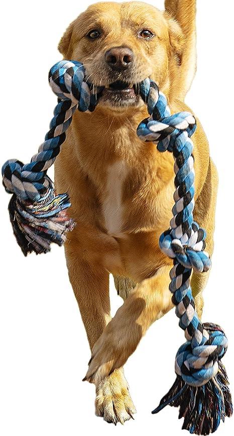Amazon.com: Cuerda de perro juguete para masticadores ...