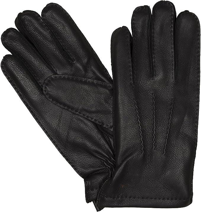 LLOYD Herrenhandschuhe Handschuhe Ziegennappaleder Cognac 7629