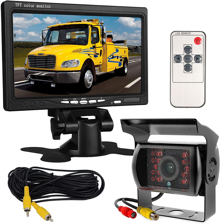 12 V 24 V 17 8 Cm Auto Tft Lcd Bildschirm Hd Monitor Elektronik