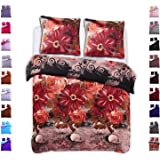 celinatex winter bettw sche 200x220 microfaser fleece bettbezug mit 80x80 kissenbezug style. Black Bedroom Furniture Sets. Home Design Ideas