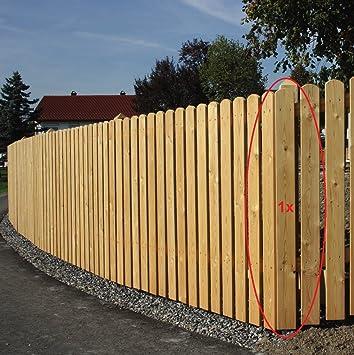 Gartenwelt Riegelsberger 10 Stuck Zaunlatte Aus Larchenholz Hohe