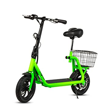 ECOXTREM Scooter eléctrico de Color Verde, diseño ...