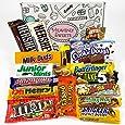 Amerikanische Schokolade Geschenkkorb | Auswahl beinhaltet Reeses, Hersheys, Butterfinger, M&M | 18 Produkte in einer tollen retro Geschenkebox | American Candy
