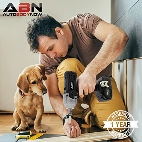 ABN Cordless Impact Wrench Kit 18 Volt Impact Wrench 1 2 Inch with 3.0Ah Lithium-Ion Battery