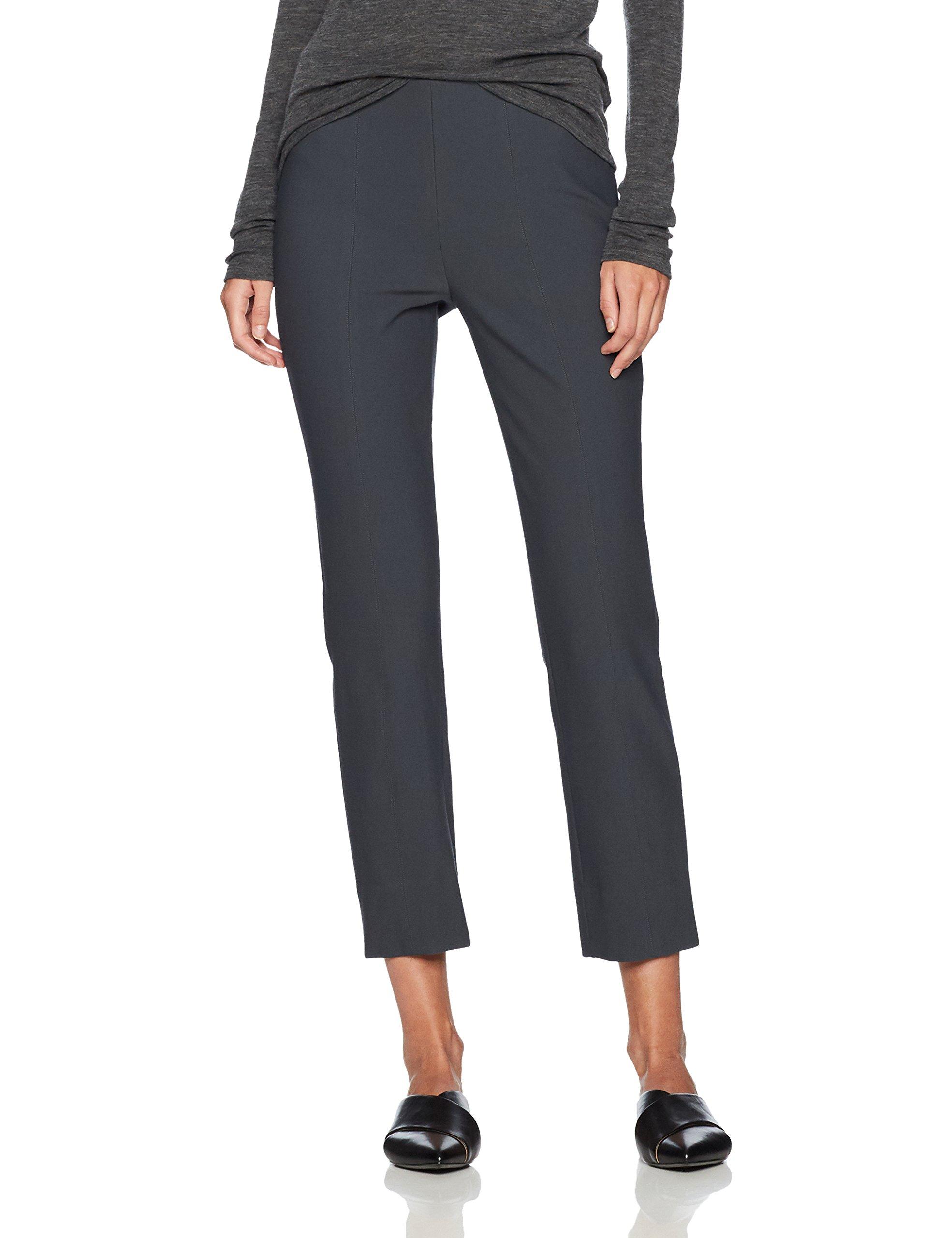 Vince Women's Stitch Front Seam Legging, Dark Grey, M