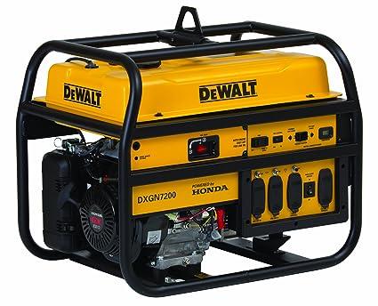 amazon com dewalt 6100 running watts 7200 starting watts generac gp5500 carburetor northstar portable generator — 13,000