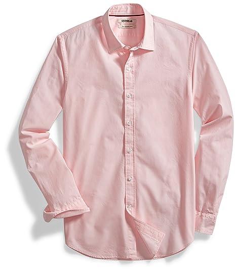 223cf8f6ce Amazon Brand - Goodthreads Men's Slim-Fit Long-Sleeve Solid Poplin Shirt