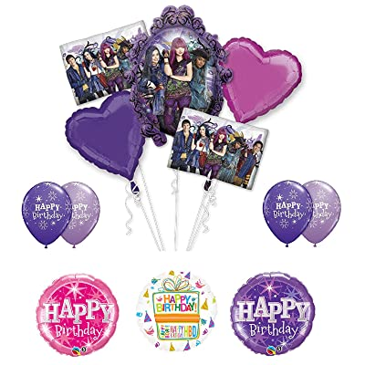 Mayflower The Descendants Birthday Party Supplies and Balloon Bouquet Decorations: Toys & Games