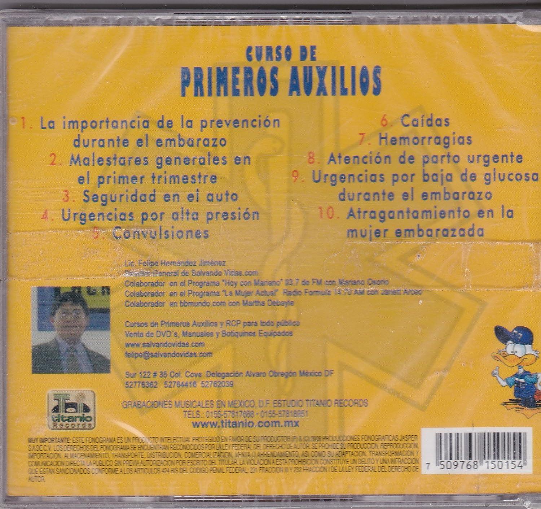 Curso De Primeros Auxilios - Curso De Primeros Auxilios Vol 3 - Amazon.com Music