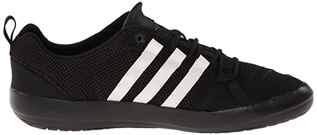 0db440374cdf adidas Outdoor Mens Climacool Boat Lace Black Size  11  Amazon.co.uk  Shoes    Bags