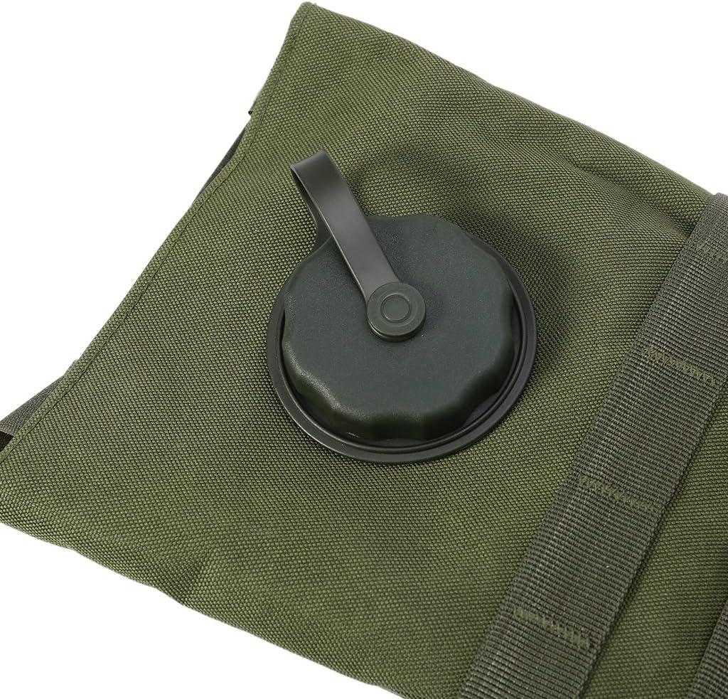 Army Green Mochila de hidrataci/ón militar 2,5 L Molle