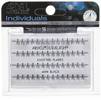 84af6a4e13e Amazon.com : Ardell Individual Lashes, Flare Mini Black (lower Lash) : Fake  Eyelashes And Adhesives : Beauty