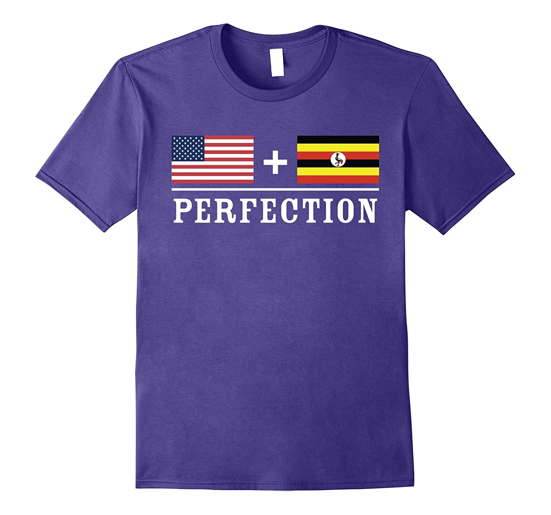 American  Ugandan  Perfection Flag T-Shirt-Vaci