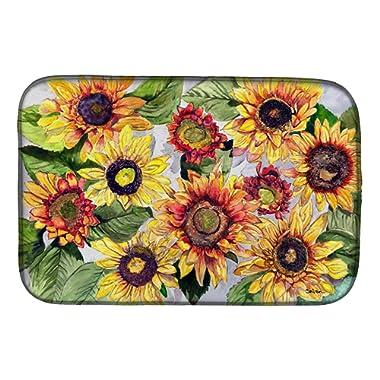 Sunflowers Dish Drying Mat 8766DDM