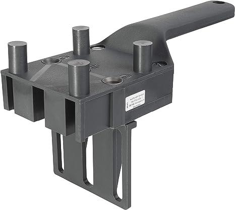 Wood Dowel Woodworking Jig drill Guide Meuble Poignée Modèle position Outils