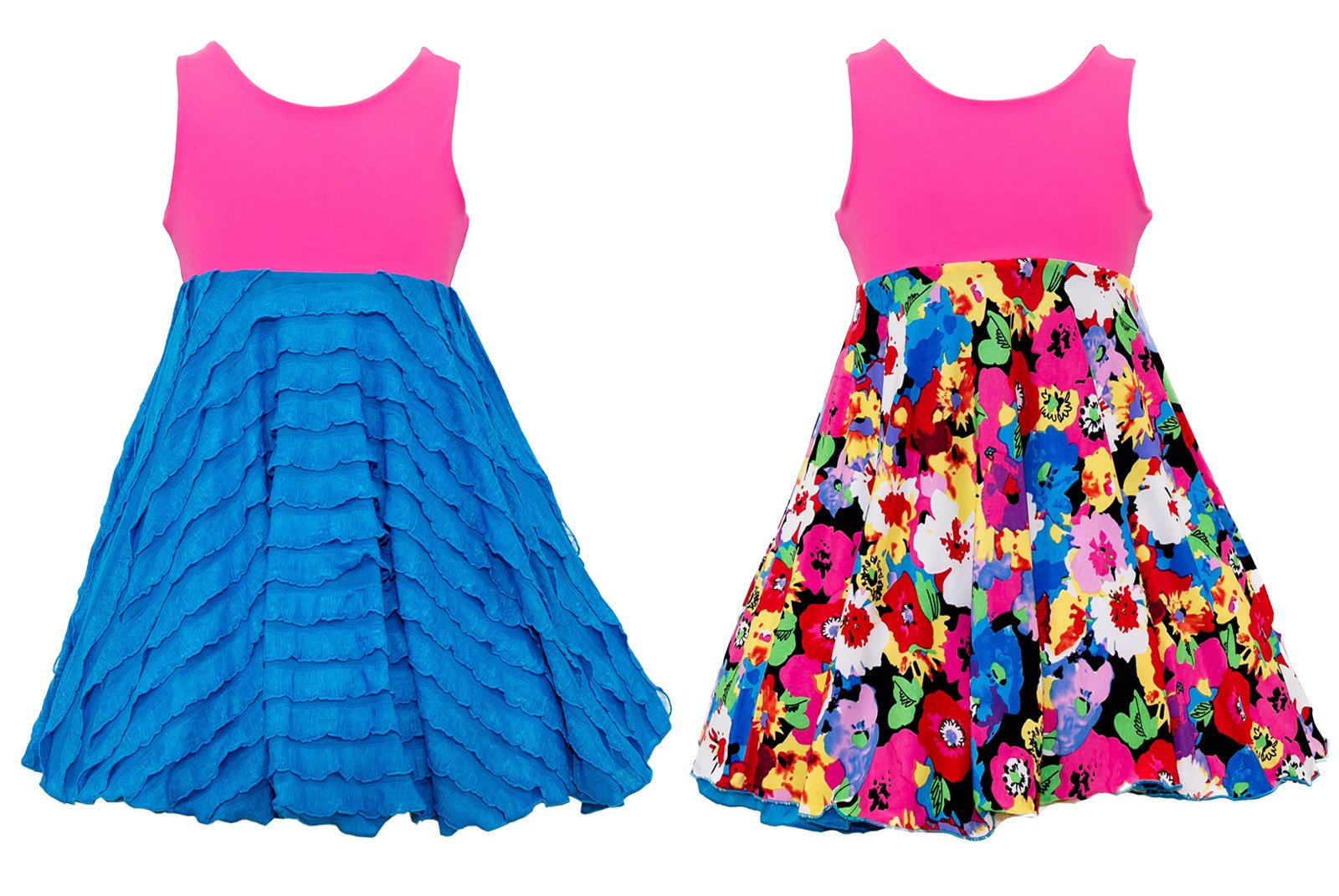 Spinning Tales SpinDay Spin Dress - Reversible (10)