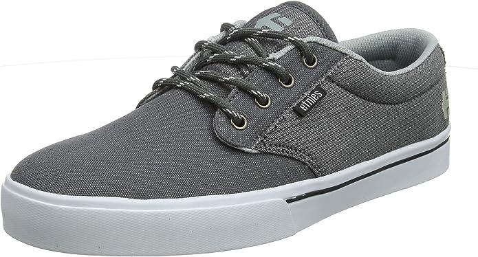 Etnies Jameson 2 Eco Sneakers Skateboardschuhe Grau/Weiß/Silber