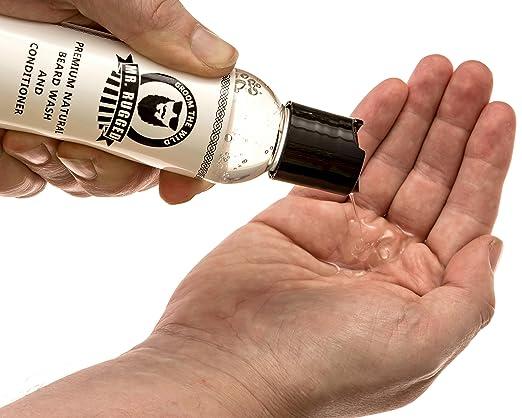 5. Mr Rugged Beard Wash Shampoo and Conditioner - Best Acne Control Beard Shampoo and Conditioner