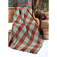 Fashion Throw - Soft Cotton sofa and couch throw for fancy look of room SIZE 50x60 inch Multi