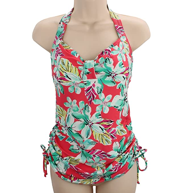 33b88f538604a Image Unavailable. Image not available for. Color: Croft & Barrow Halter  Tankini Top for Women - Size 8