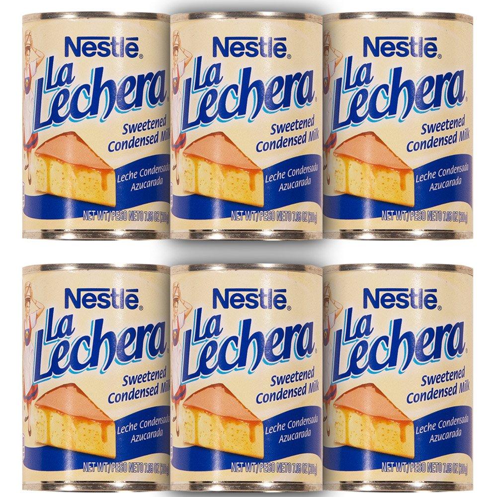 La Lechera Sweetened Condensed Milk (Pack of 6)