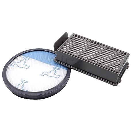 vhbw Set de 2 filtros aspiradora para Rowenta RO3718EA, RO3724EA, RO3731EA, RO3753EA,