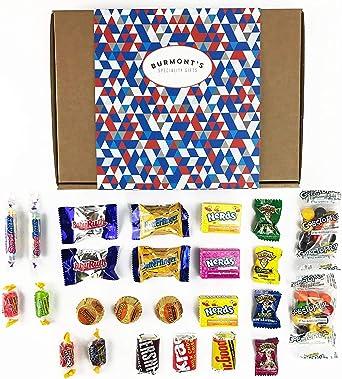 Caja De Selección Definitiva De Caramelos Y Chocolate Americanos - Incluido, Reeses, Warheads, Jolly Rancher, Nerds ¡Y Más! - Cesta Exclusiva Para Burmonts: Amazon.es: Alimentación y bebidas