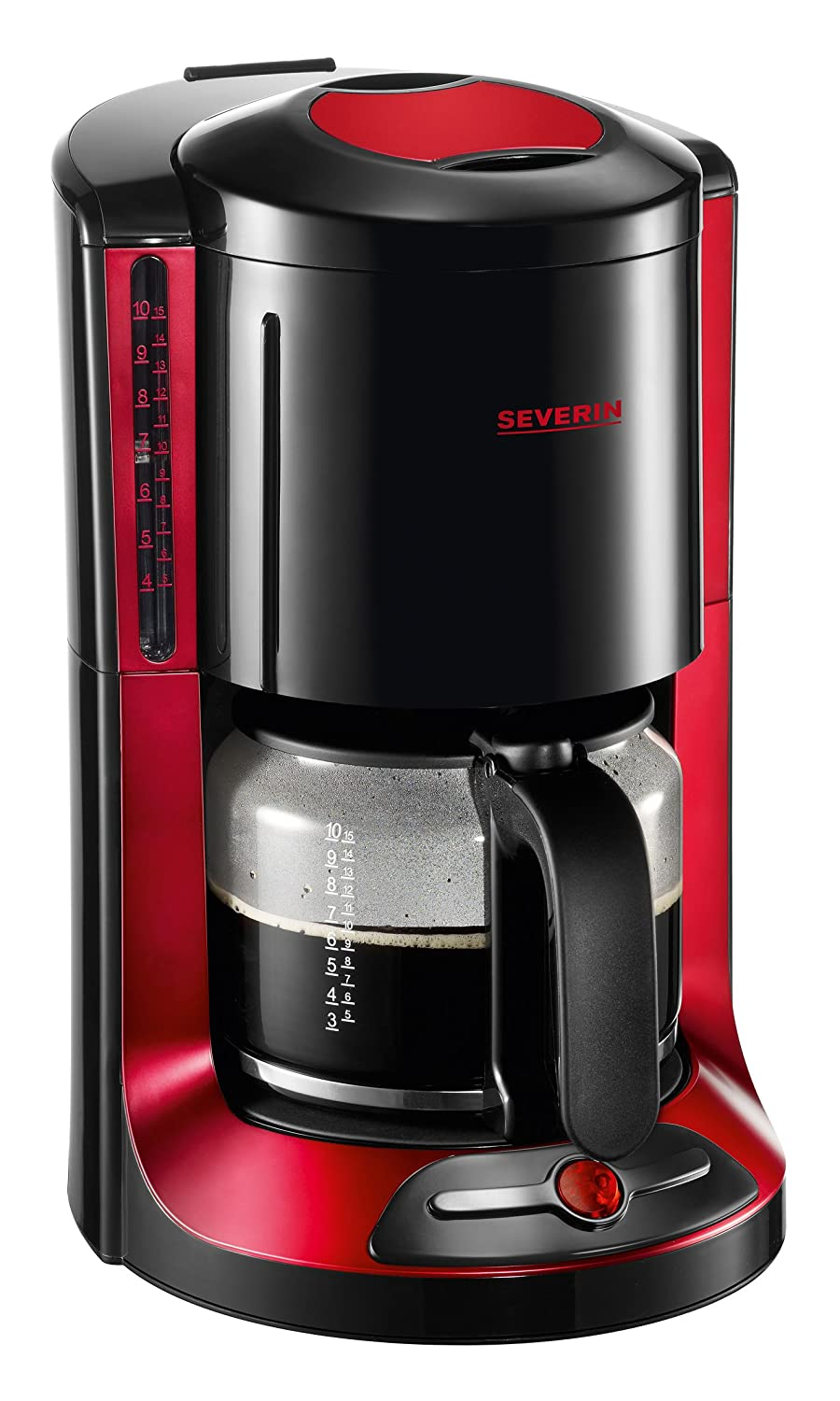 Severin Select Coffee Maker 10C KA 4177 Cafetera, 1000 W, Negro y ...