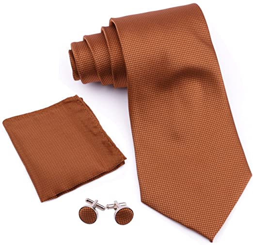 Driew Men Suit Pocket Square Handkerchiefs with Assorted Pattern