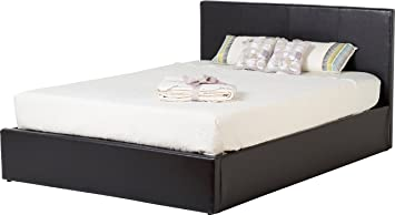 d2e4bcd4ed8b Seconique Waverley 4 Feet 6 inch Storage Bed - Brown Faux Leather ...