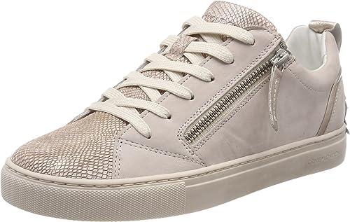 Low-Top Sneakers, Beige (Nude), 7.5 UK