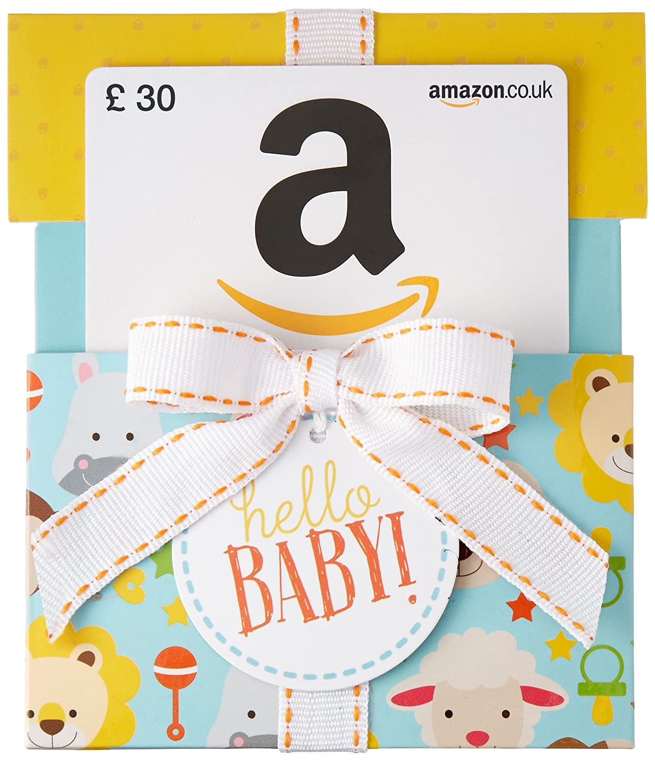 Amazon.co.uk Gift Card - Hello Baby Reveal - FREE One-Day Delivery Amazon EU S.à.r.l.