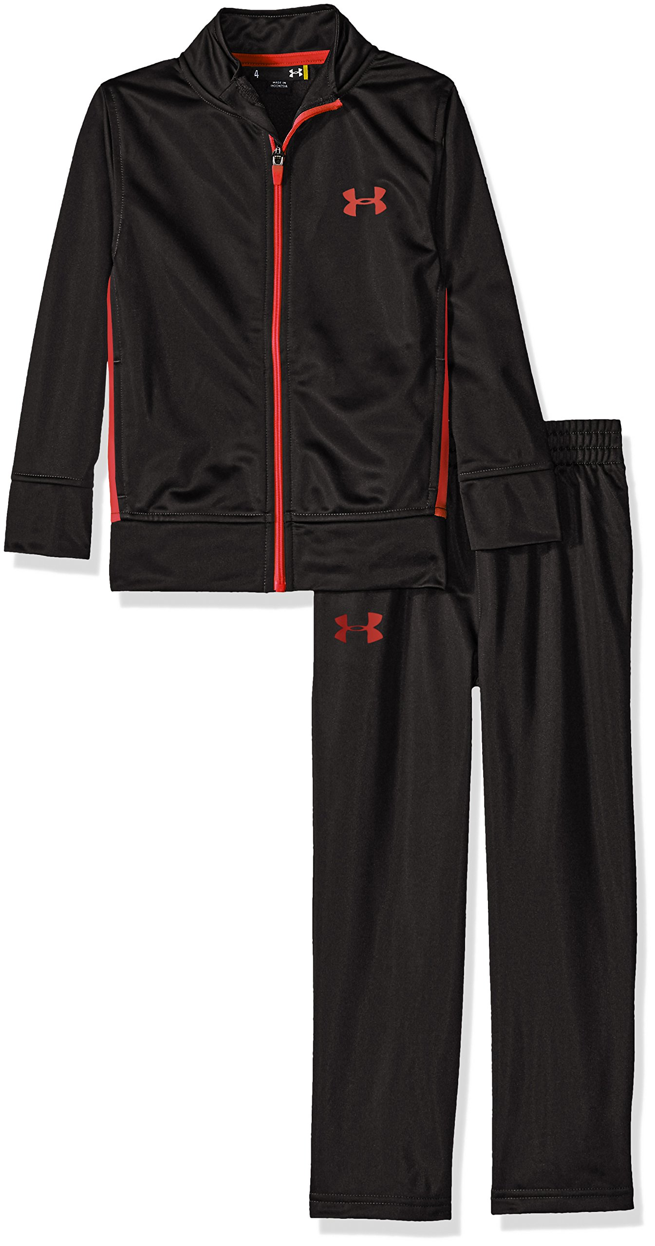 Under Armour Toddler Boys' Zip Jacket and Pant Set, Black, 2T