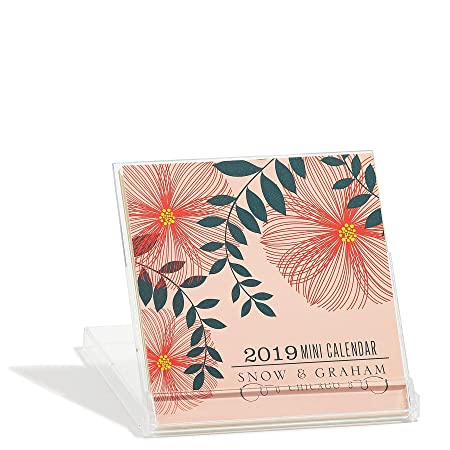 Calendario de escritorio 2019 Posies Mini por Snow and ...