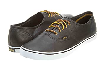Vans Authentic Lo Pro Leather SCHWARZ VQES3W5 Grösse: 42,5