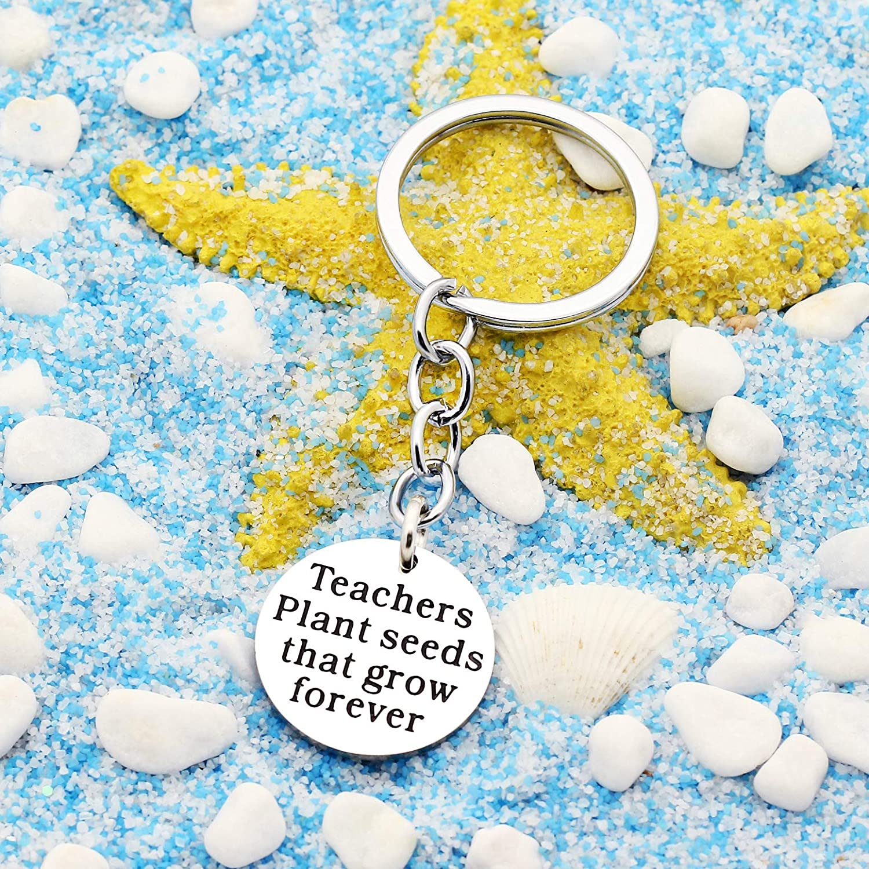 Best Teacher GiftIt Takes a Big Heart to Help Shape Little Minds Charm Love Heart Pendant Keychain A