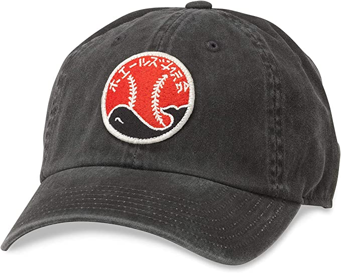 American Needle Archive Nippon League Taiyo Whales Baseball Hat 44740A-TAW-BLK