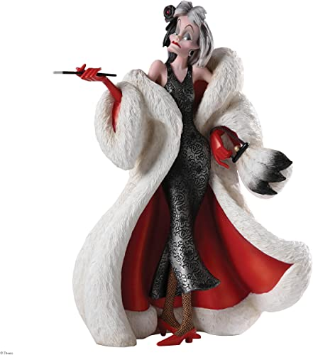 Enesco Disney Showcase Cruella Couture de Force Figurine, 8-Inch