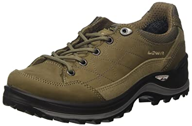 Lowa Women's Renegade III GTX Lo Ws Hiking Boots, Brown (Stein), 4