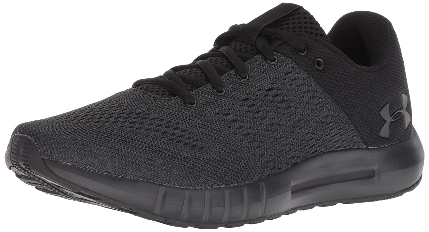 Under Armour Women's Micro G Pursuit Sneaker B0775VFB92 6 M US|Black (004)/Black