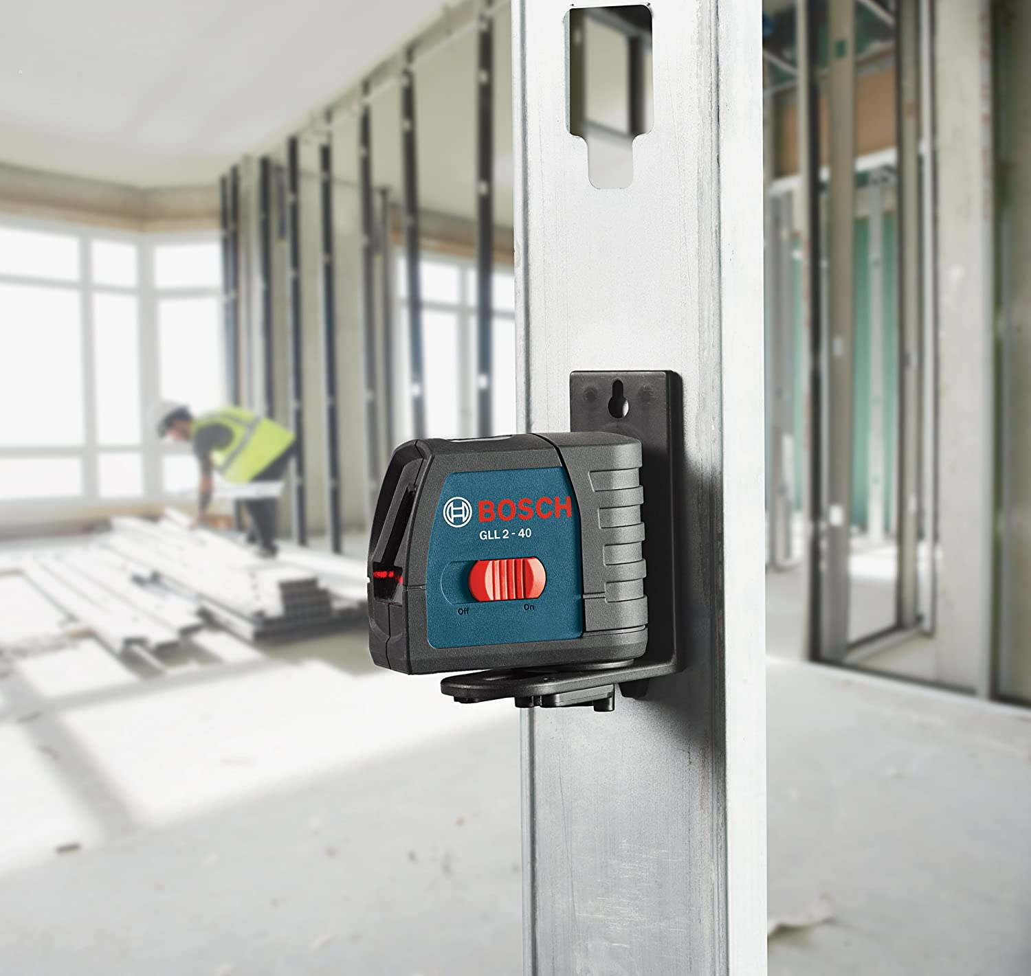 Bosch BM3 Positioning Device Accessory for Line and Point Lasers