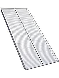 Erickson 07459 Center Folding Aluminum Ramp, 1 Pack