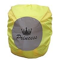 """Wasserdichter Schulranzen/Rucksack Regenschutz/Regenüberzug mit Reflektionsbild """"Princess"""""""