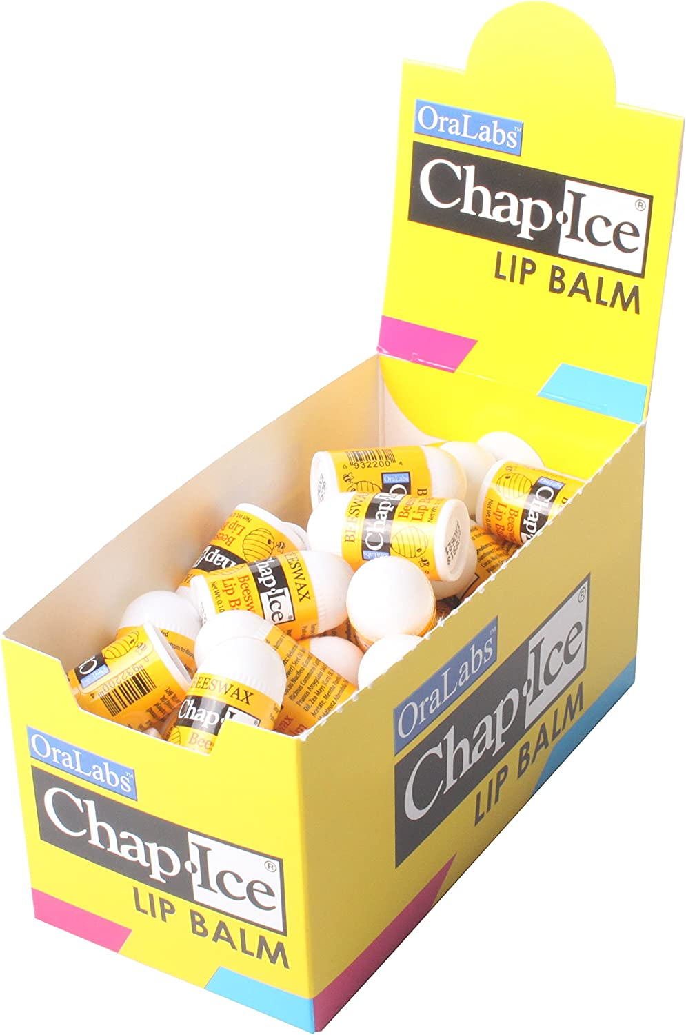 Chap Ice Mini Lip Balm Assorted Flavors-Approximately 50 (Beeswax)