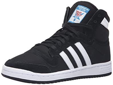 new product 5c2db 67594 adidas Originals Men s top Ten hi Running Shoe, White Black, ...